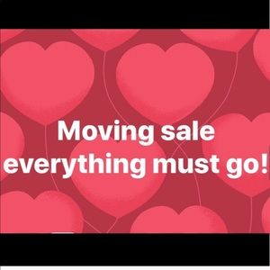 Moving sale everything must go!!